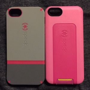 Accessories - iPhone 5/5s speck cases. Can Standing on its own